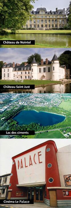 Visites et tourisme en taxi autour de Beaumont sur Oise 95